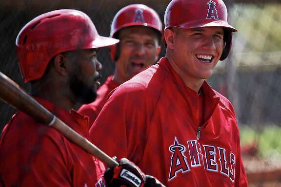 The Angels, who are among the AL West's big spenders, signed Mike Trout to a six-year, $144.5 million contract extension.