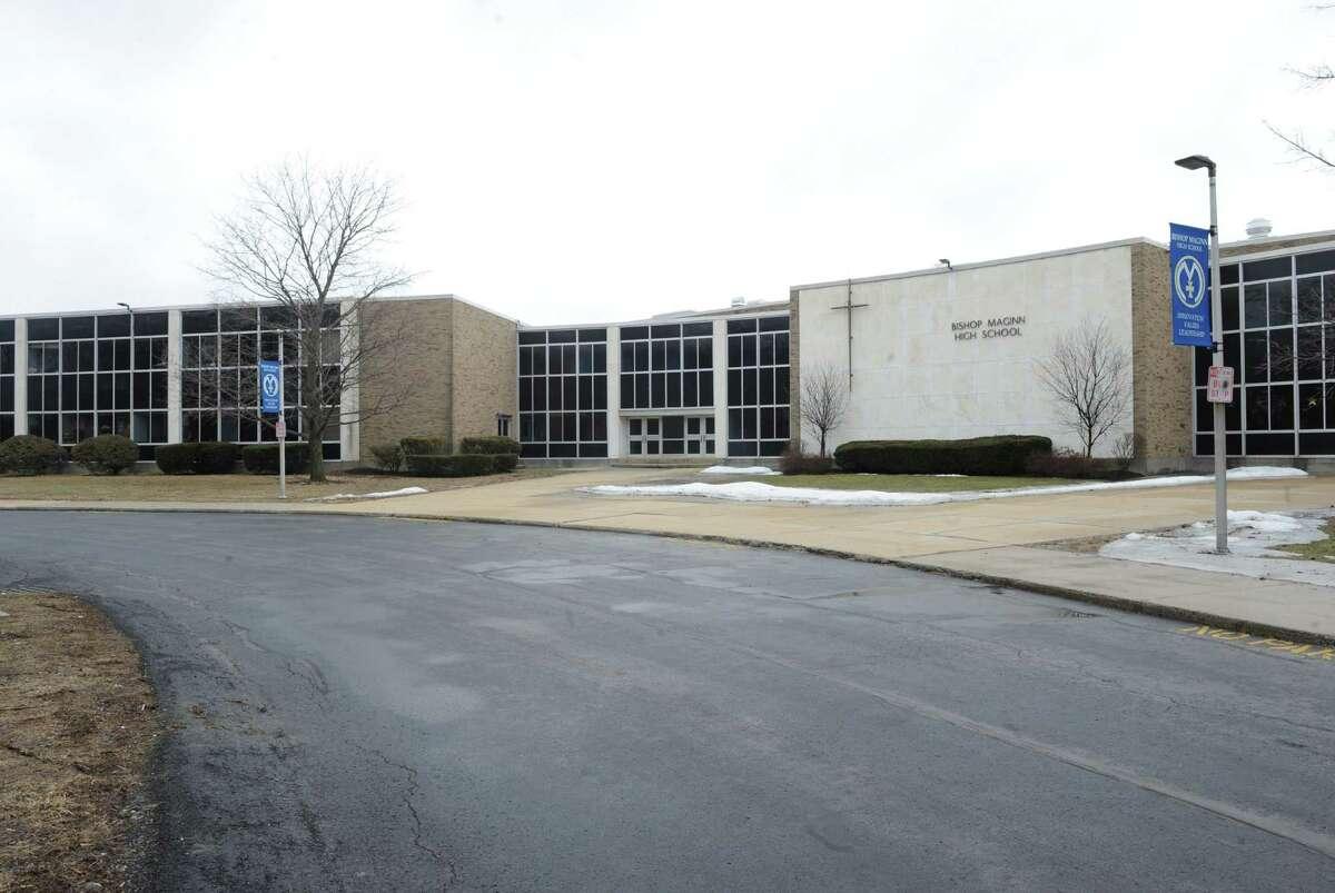 Bishop Maginn High School at 99 Slingerland Avenue on Saturday March 29, 2014 in Albany, N.Y. (Michael P. Farrell/Times Union)