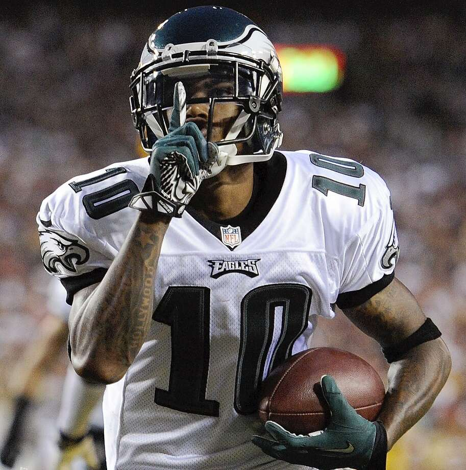 DeSean Jackson was cut by the Philadelphia Eagles on Friday. Photo: Nick Wass, Associated Press