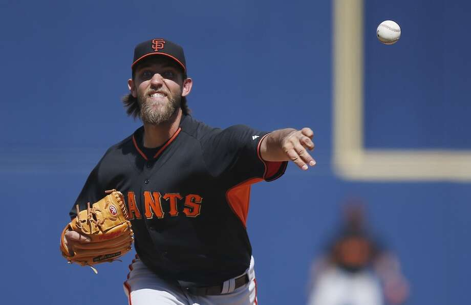 The Giants' Opening Day roster for 2014 is set. Here's a look at the team.    LHP Madison Bumgarner Photo: Ross D. Franklin, Associated Press