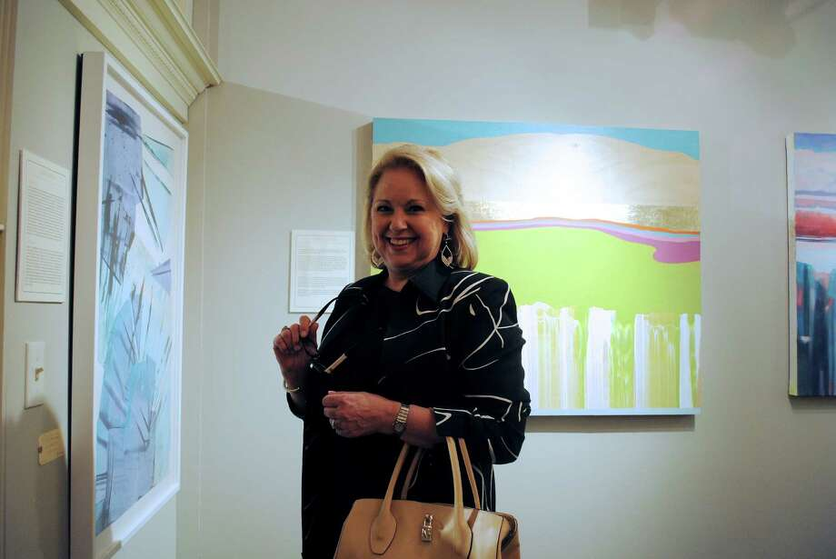 The Greenwich Art Society held a fundraiser at The Drawing Room in Cos Cob on March 29. Were you SEEN at the garden themed party for the Greenwich Art Society? Photo: Lauren Stevens/Hearst Media Group