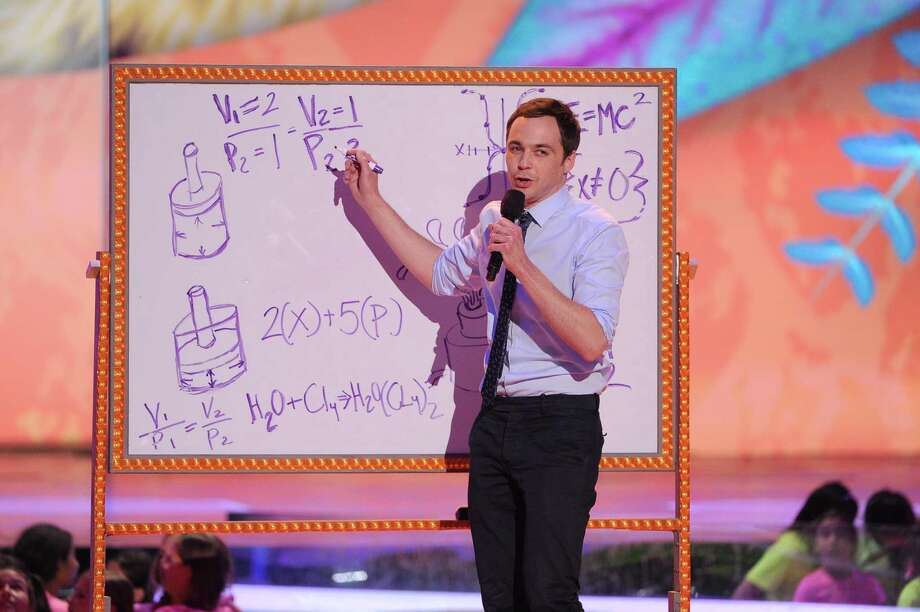 LOS ANGELES, CA - MARCH 29:  Actor Jim Parsons onstage during Nickelodeon's 27th Annual Kids' Choice Awards held at USC Galen Center on March 29, 2014 in Los Angeles, California. Photo: Kevin Winter, Getty Images / 2014 Getty Images