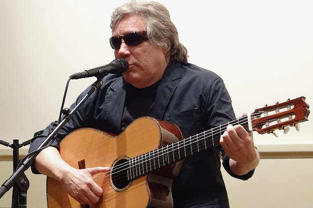 Grammy Award-winning musician Jose Feliciano performing live for an intimate crowd Saturday at the Fairfield Museum and History Center. Photo: Mike Lauterborn / Fairfield Citizen