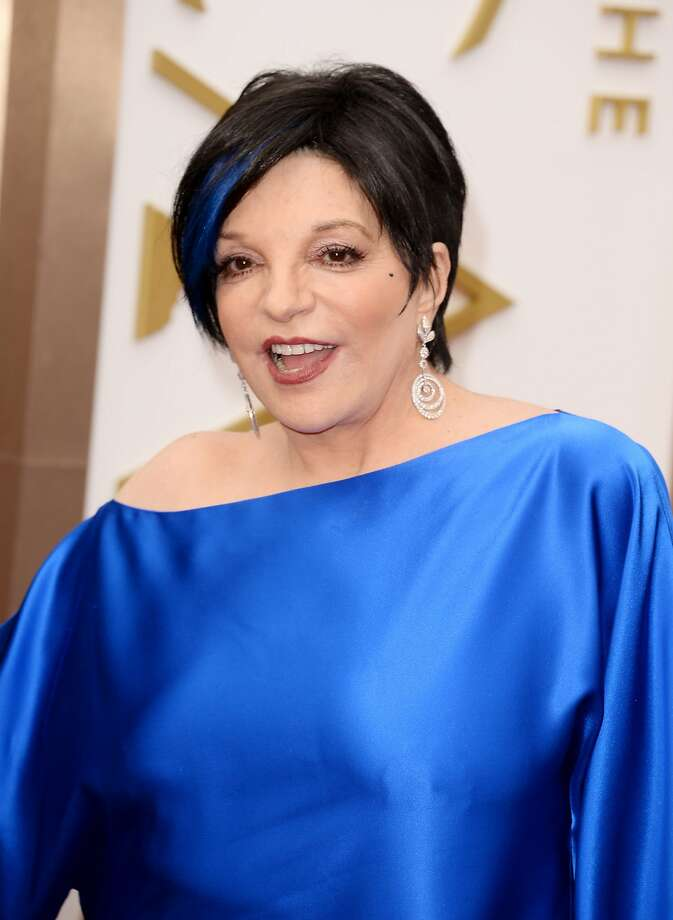HOLLYWOOD, CA - MARCH 02:  Actress Liza Minnelli attends the Oscars at Hollywood & Highland Center on March 2, 2014 in Hollywood, California.  (Photo by Jason Merritt/Getty Images) Photo: Jason Merritt, Getty Images