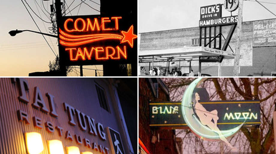 "Comet Tavern co-owner David Meinert said he and business partner Jason Lajeunesse rescued it to ""ensure it didn't disappear into Seattle's black hole of gentrification.""  Here's a few other things in Seattle that have also escaped the black hole."