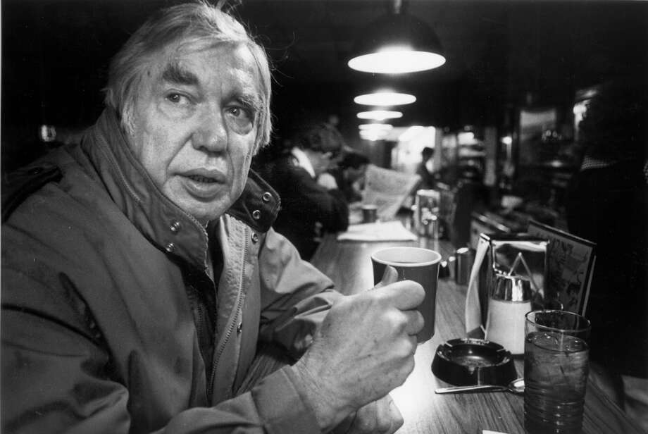 "Inside the Mecca Cafe in 1982. Pictured: Emmett Watson, former Seattle Post-Intelligencer and Seattle Times columnist. And this ""old Seattle"" is one that is long dead; Watson passed away in 2001. Photo: CARY W. TOLMAN, P-I File"