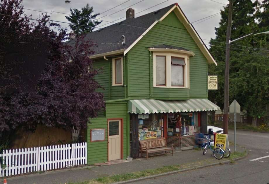 Carleton Avenue Grocery: This cute grocery in Georgetown might be Seattle's oldest, continuously running grocery store. A P-I story said the store opened in 1911 as a roadhouse that likely had a store. There's just three aisles here, and soda comes in glass bottles. (Photo: Google Street View).