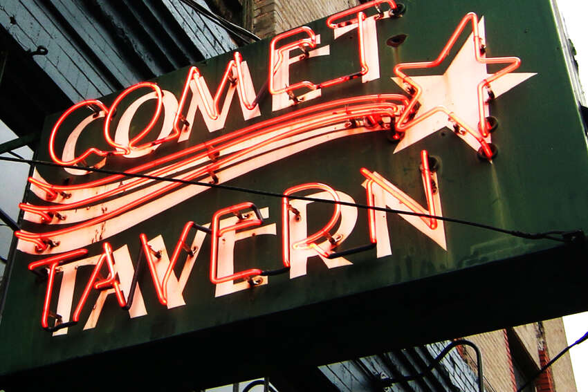 Comet Tavern Meinert owned stake in this Pike Street club with other business partners through a management company called Guild Seattle. He has sold his stake in The Comet and his former business partners have told the media Meinert is barred from returning to the space.