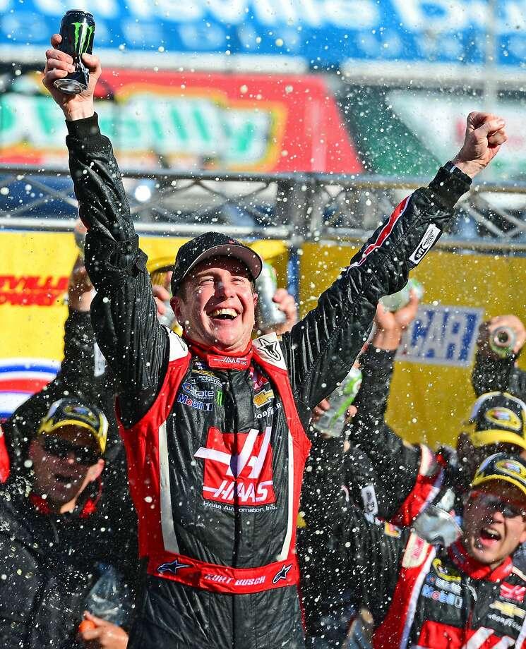 Kurt Busch won his 25th career Sprint Cup race. Photo: Andrew Weber, Reuters