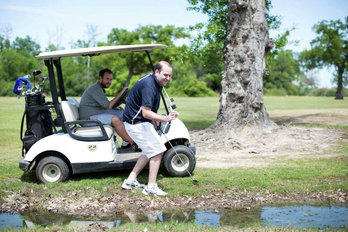 If the Botanic Garden were to lease the course, golfers Travis King and Robert Bravman would have to seek their serenity elsewhere.