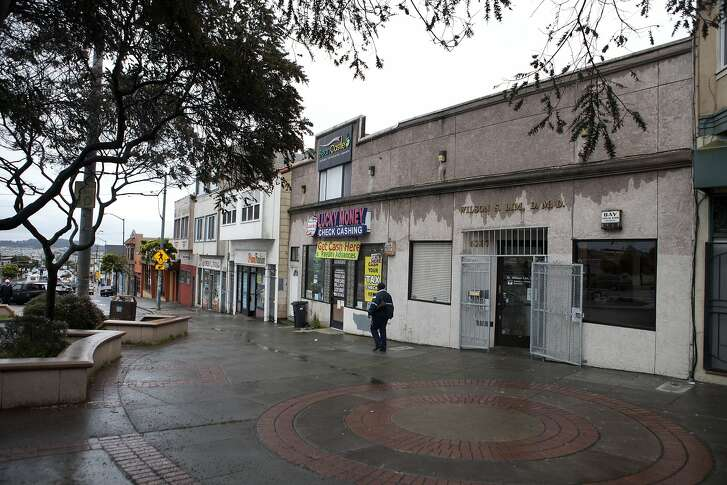 The office of Wilson Lim D.M.D., who was recently indicted along with Leland Yee, in Daly City, Calif. on March 29, 2014.