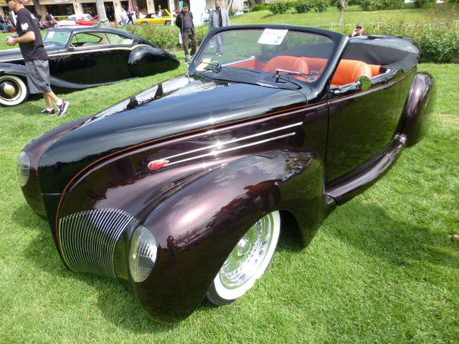 1939 Lincoln Zephyr. Owner, John Fleming, Asher, Okla.