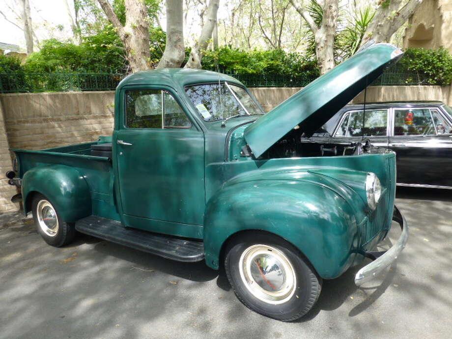1947 Studebaker pickup truck. Owner: Paul Sinclair.