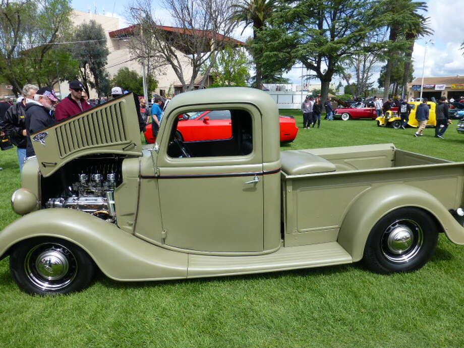 1936 Ford. Owner: Jim Hague, Pleasanton.