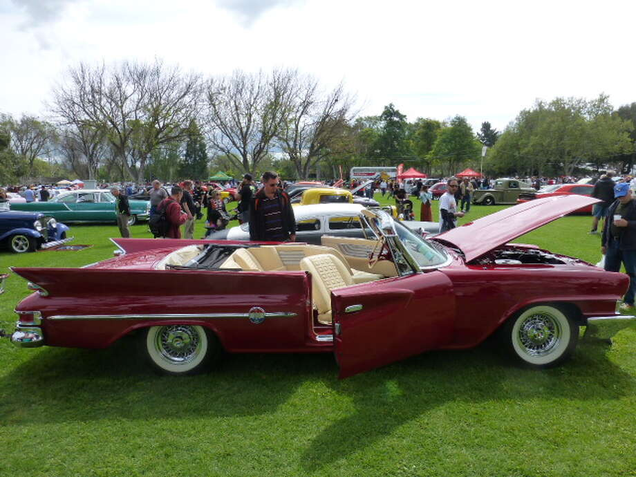 1961 Chrysler 300G convertible. Owners: Jason and Nicole Grossman, Santa Rosa, Calif.