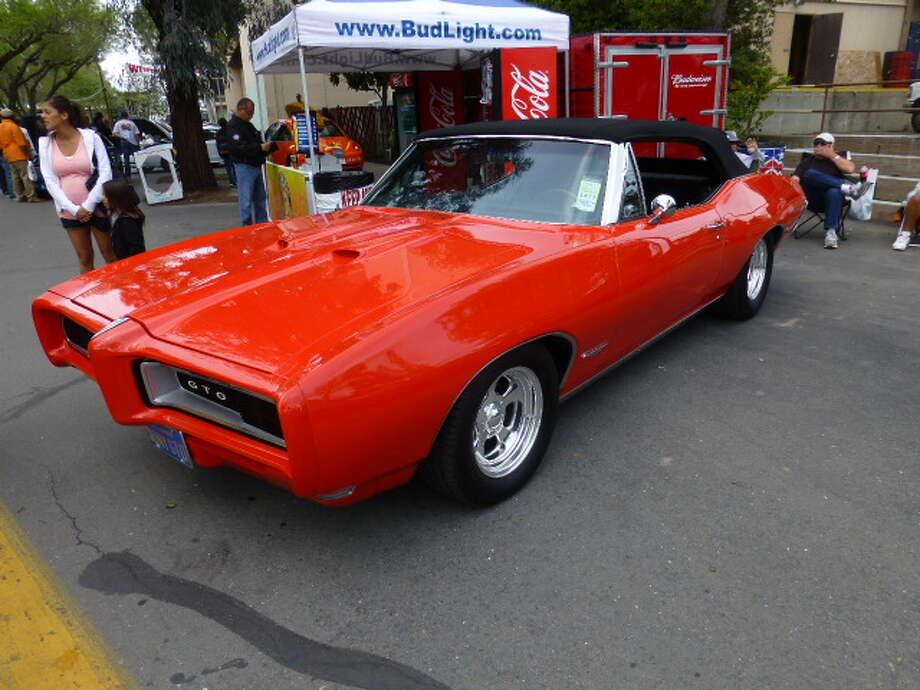 1968 Pontiac GTO. Owner, Sam Spiteri, San Mateo, Calif.