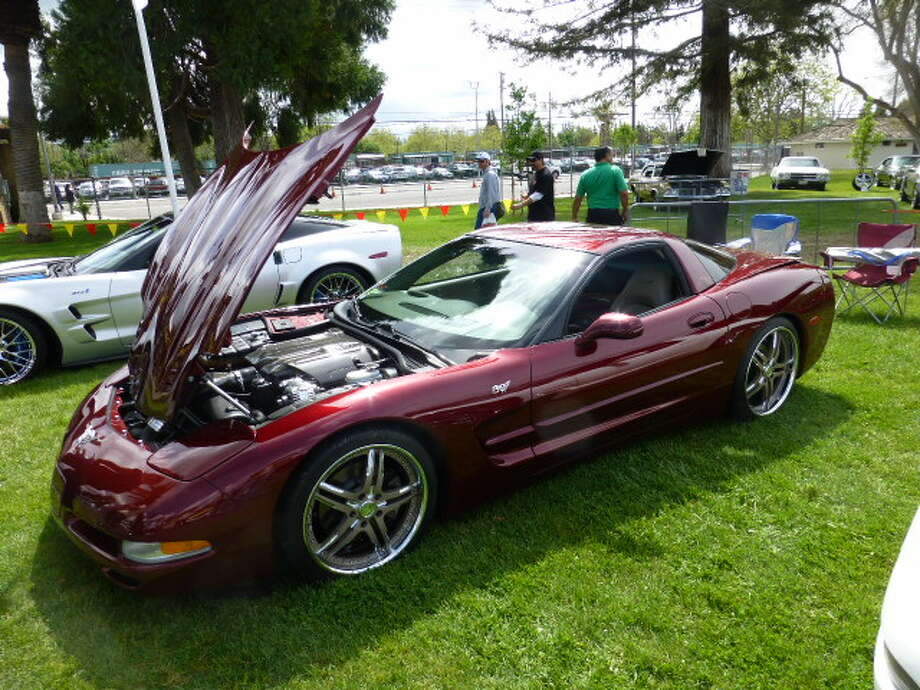 A 2003 (50th anniversary) Chevrolet Corvette. Owner: Tony Yamin of Pleasanton. (All photos by Michael Taylor.)