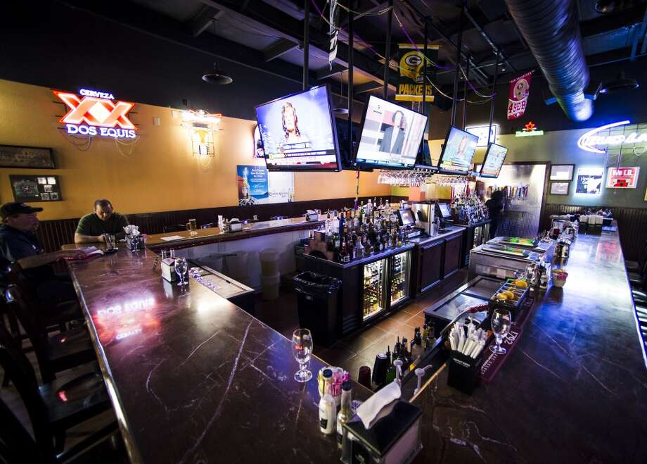 Pictured is the interior of Jungle Sports Bar and Grill on Wednesday afternoon. The newly opened Jungle Sports Bar and Grill in Nederland is the CAT5 Bar of the Week for March 27, 2014. Photo taken Wednesday, 3/19/14 Jake Daniels/@JakeD_in_SETX