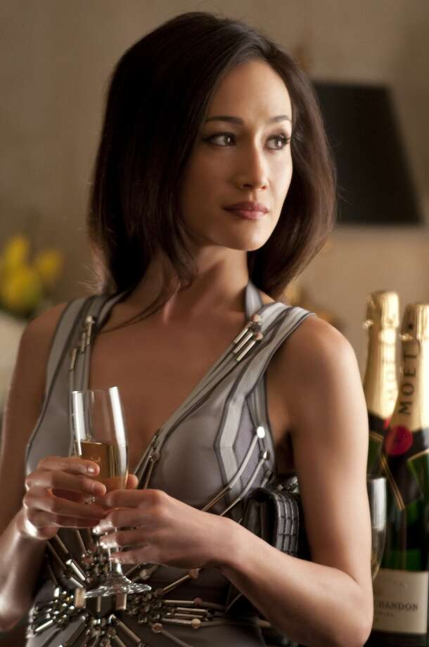 "Maggie Q worked as a model in Asia before breaking into movies as super-fighter beauty in movies like ""Mission: Impossible III"" and ""Live Free or Die Hard.""   Photo: Ben Mark Holzberg, The CW"