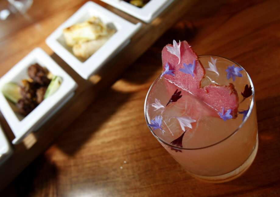 Spoonbar's drinks are as pretty as they are good. Photo: Brant Ward, The Chronicle