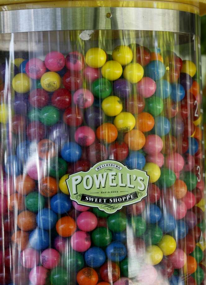 Got a sweet tooth? Head to Powell's and load up on all your old favorite candies. Photo: Brant Ward, The Chronicle