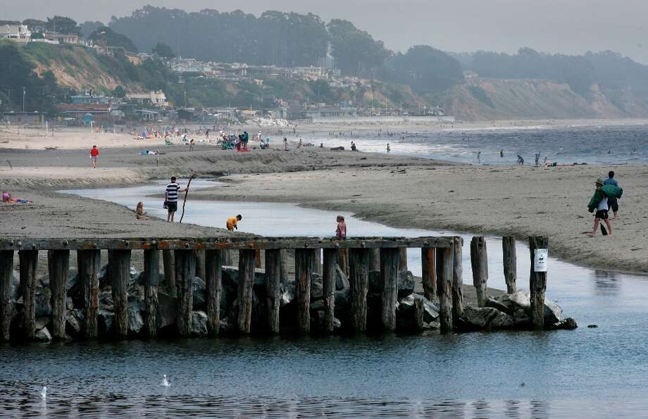 APTOS: Enjoy the sand and sea along Rio Del Mar State Beach in Aptos. (Drive time: 1.5 hours) Photo: Michael Macor, Michael Macor/SFC