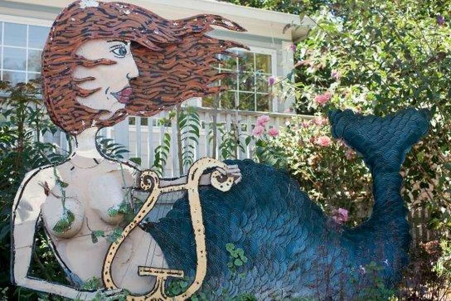 SEBASTOPOLYou'll find Patrick Amiot's urban folk art sculptures (they're made of recycled materials) on Sebastopol's Florence Avenue. (Drive time: 1.25 hours) Read more: Sebastopol - artsy axis of liberalism Photo: Judy Bellah / Getty Images