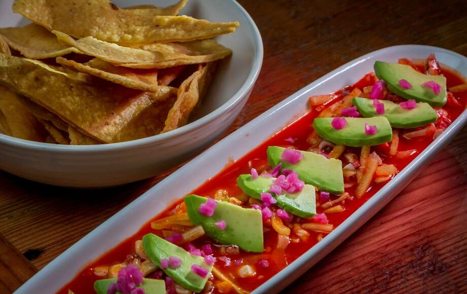 The Ceviche de Aguachile at Sabrosa in San Francisco, Calif., is seen on Saturday, March 22nd, 2014. Photo: Special To The Chronicle