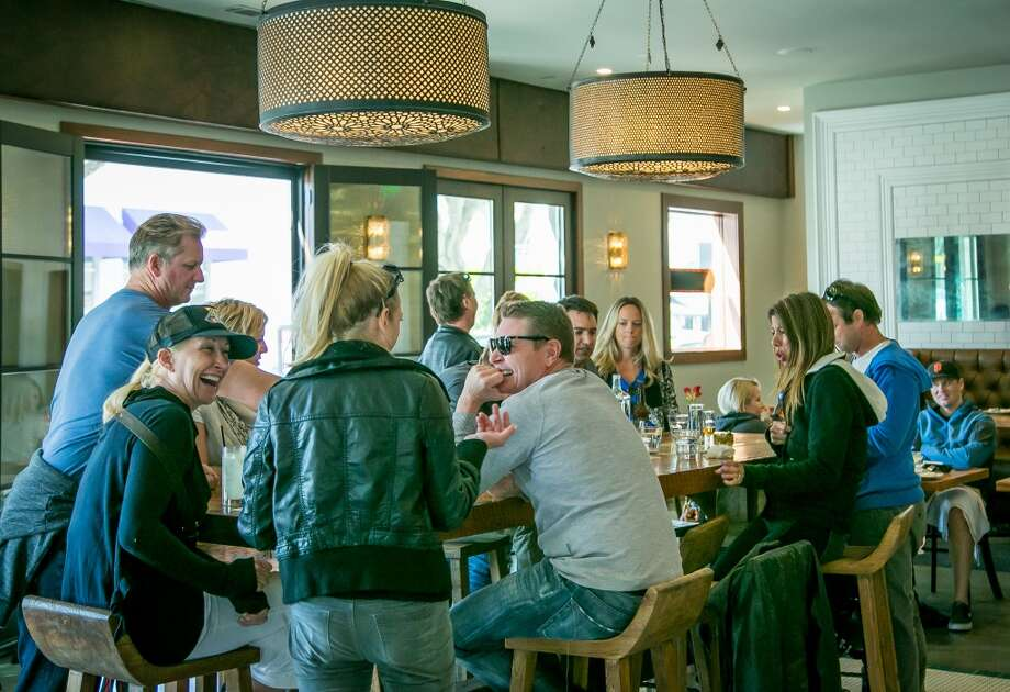 Diners have lunch at Sabrosa in San Francisco, Calif., on Saturday, March 22nd, 2014. Photo: Special To The Chronicle