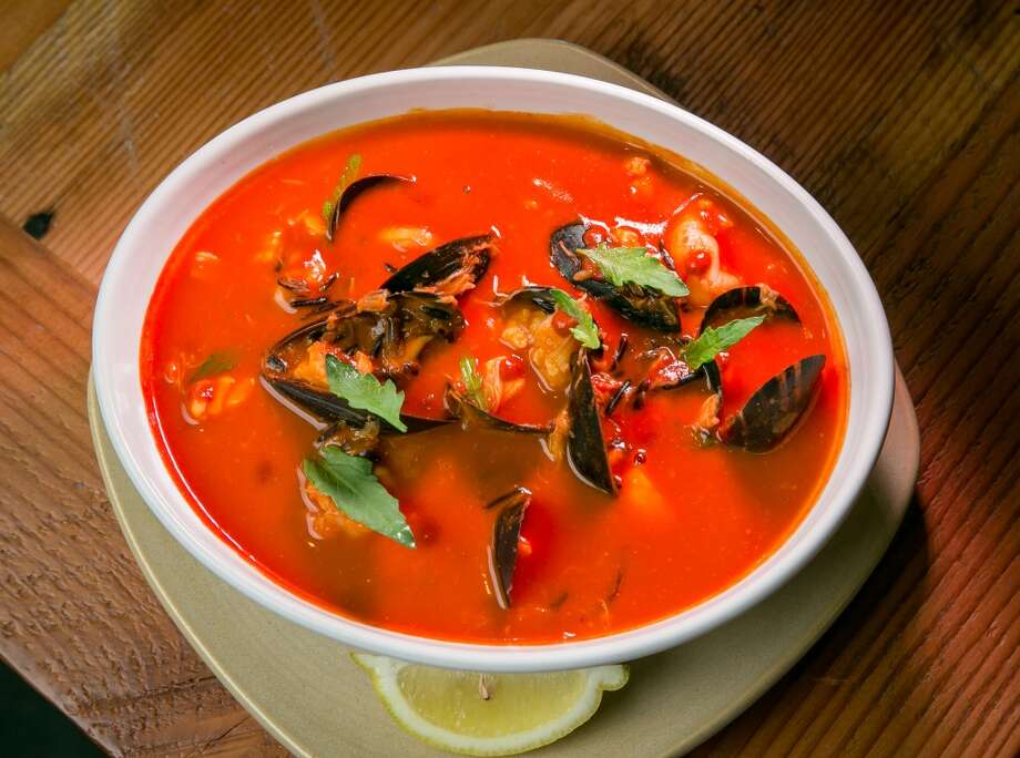 The Seafood Stew at Sabrosa in San Francisco, Calif., is seen on Saturday, March 22nd, 2014. Photo: Special To The Chronicle