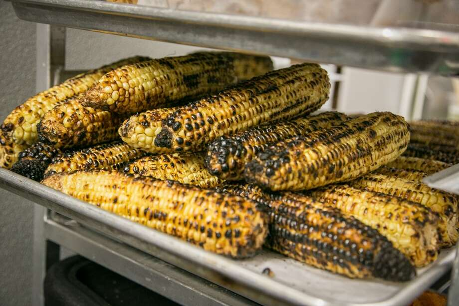 Grilled corn at Sabrosa in San Francisco, Calif., is seen on Saturday, March 22nd, 2014. Photo: Special To The Chronicle