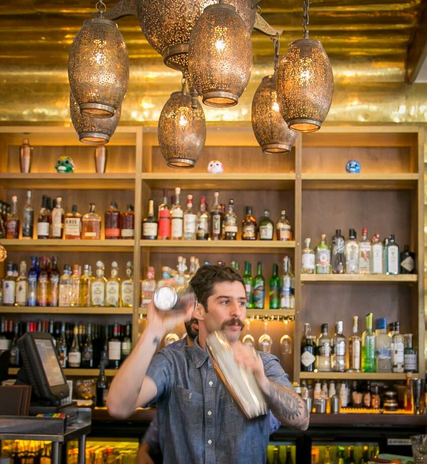 Bartender Francisco Carminatti shakes drinks at Sabrosa in San Francisco, Calif., on Saturday, March 22nd, 2014. Photo: Special To The Chronicle