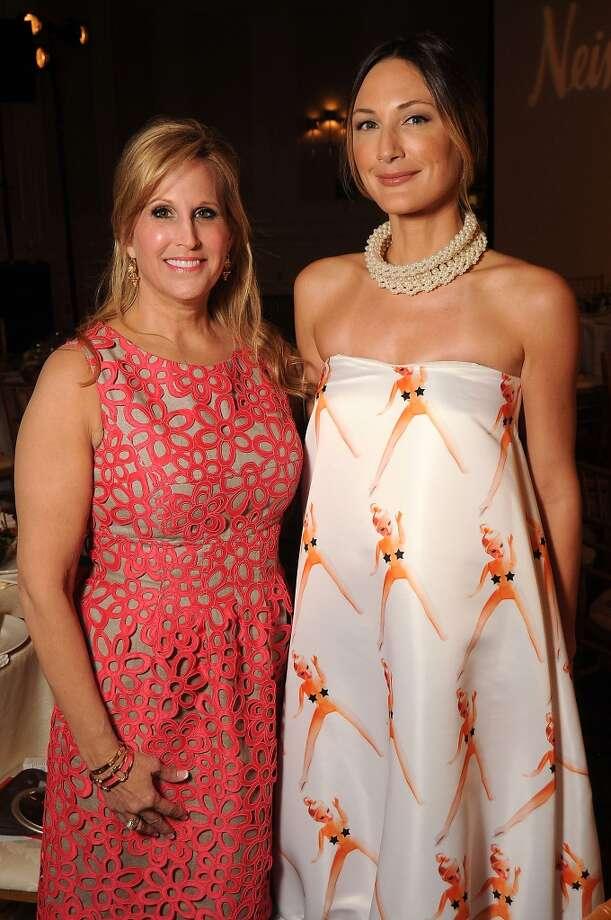 Honorees Vanessa Sendukas and Tatiana Massey Photo: Dave Rossman, For The Houston Chronicle