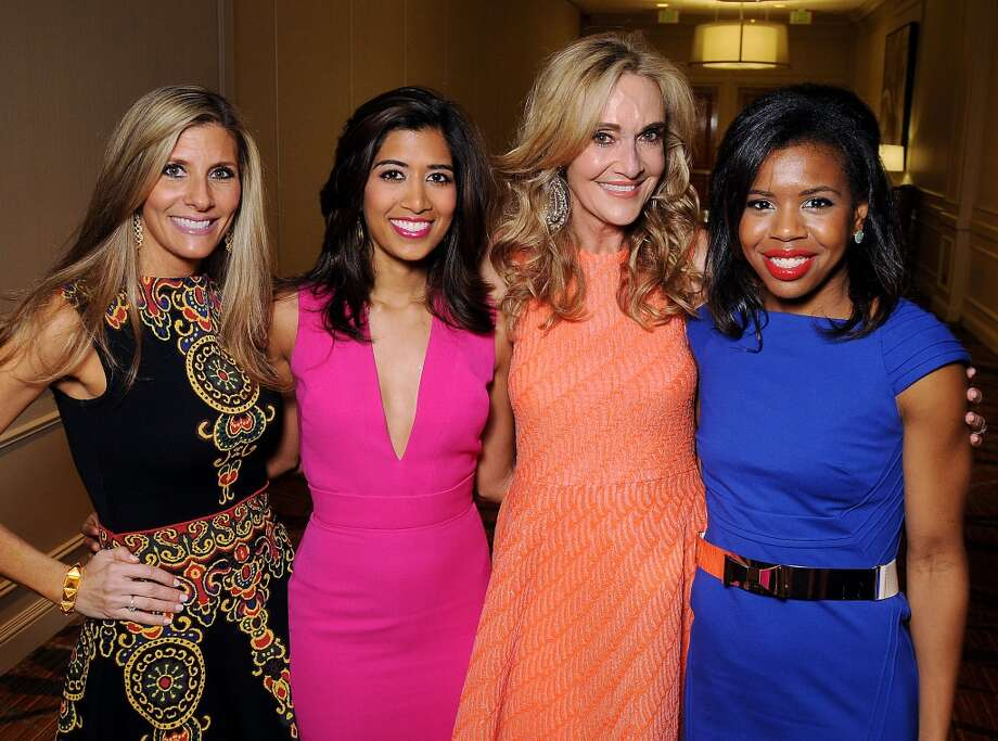 From left: Honorees Gina Bhatia, Divya Brown, Jana Arnoldy and Claire Cormier-Thielke Photo: Dave Rossman, For The Houston Chronicle