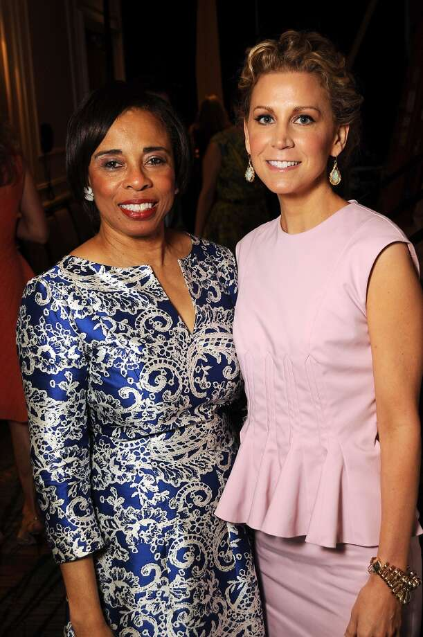 Honorees Phyllis Williams and Courtney Hill Fertitta Photo: Dave Rossman, For The Houston Chronicle