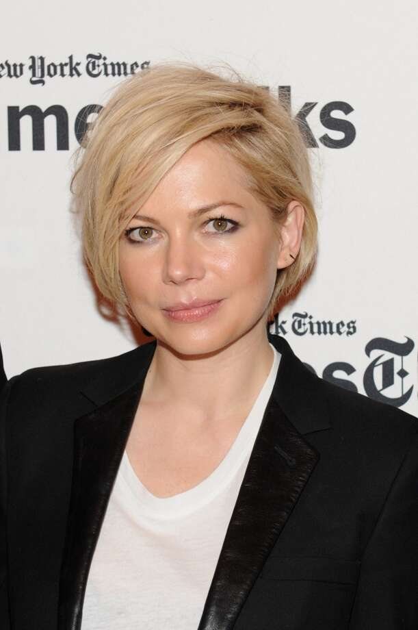 Whether she's rocking her adorable pixie cut or a side-swept bob, Michelle Williams always nails the short hairstyles. Photo: Craig Barritt, Getty Images