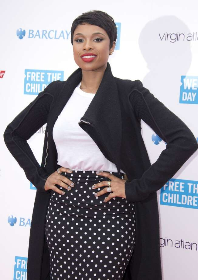Jennifer Hudson looks super chic with her short hairstyle. Photo: Joel Ryan, Associated Press