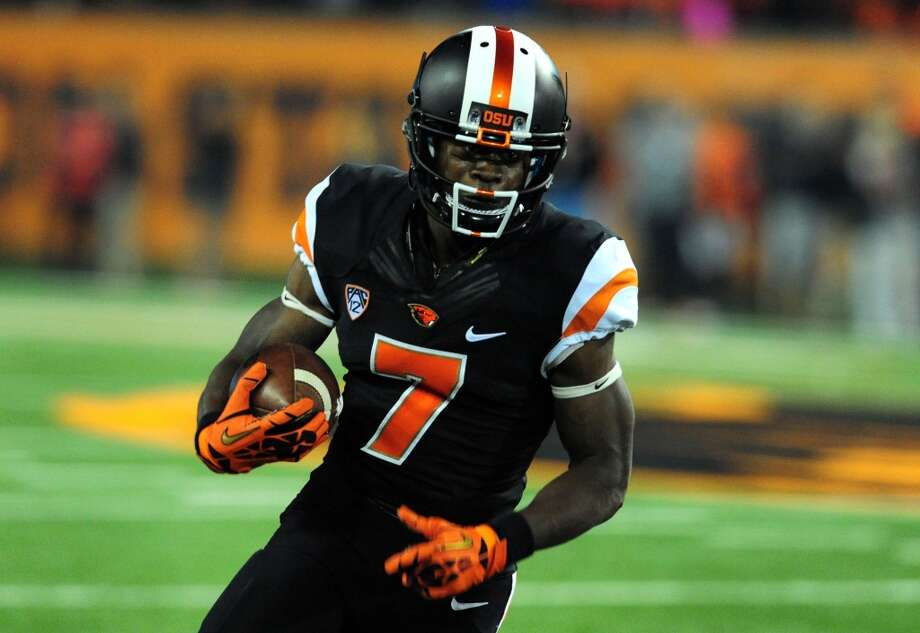 22. Philadelphia: Brandin Cooks, WR, Oregon State   A terrific prospect who runs a 4.3 and will replace DeSean Jackson. Photo: Steve Dykes, Getty Images