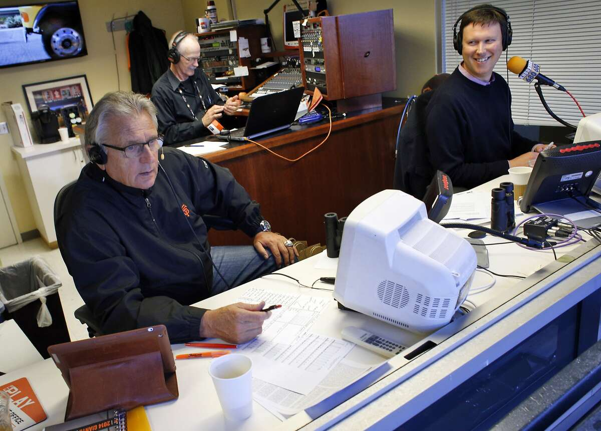 Click through the gallery to find out what Giants sportscasters love to eat and drink when they travel from stadium to stadium across the country.
