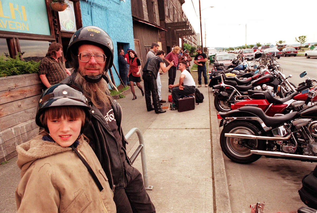 Every summer, the Alki Tavern was a bustling scene of bikers, who often came for Taco Thursdays.