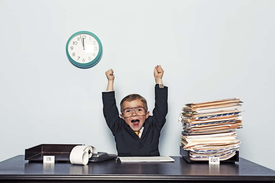 "April 1 is ""National Fun At Work Day,"" but then again it's also April Fools Day, so is it a joke? No, it's  just a marketing campaign for Playfair, a company runs team-building programs.Take a look at some of the alleged holidays and awareness campaigns we ""celebrate"" in April. Photo: Andrew Rich, Getty Images / Vetta"
