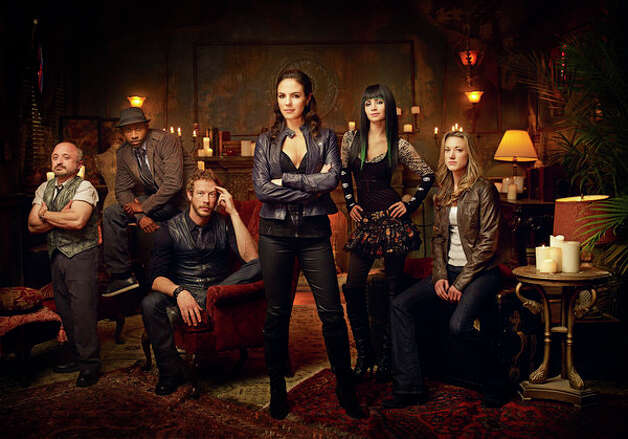 """Lost Girl: Season 4"" – After discovering she's a succubus who sustains herself by feeding on the sexual energy of humans, seductive Bo sets out on a journey to understand herself and her kind -- and to help people she encounters on her travels. Available July 24 Photo: Syfy"