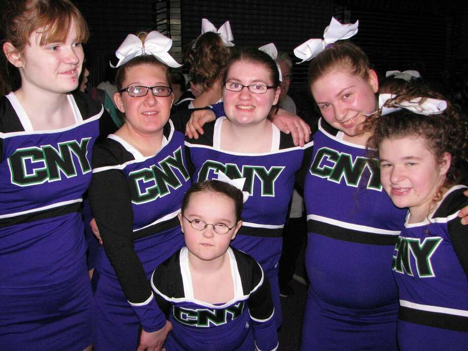 Were you Seen at the Albany Capital Championship cheerleading event at SEFCU Arena on the UAlbany campus on Saturday, March 29, 2014? Photo: Crystal Baumes