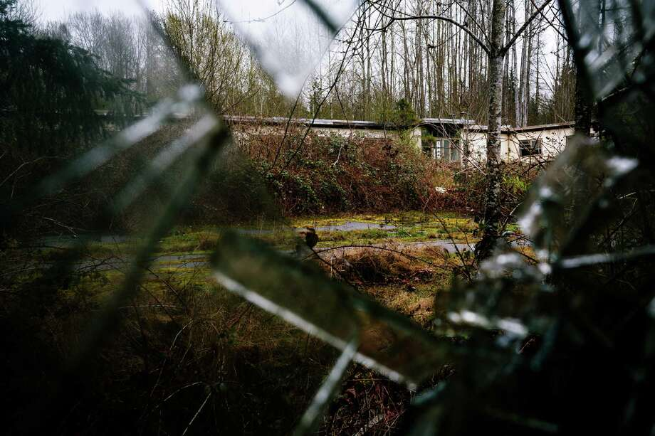 A view of one of three remaining buildings at a former Nike Site S-13/14 missile site in Redmond. Photo: JORDAN STEAD, SEATTLEPI.COM / SEATTLEPI.COM