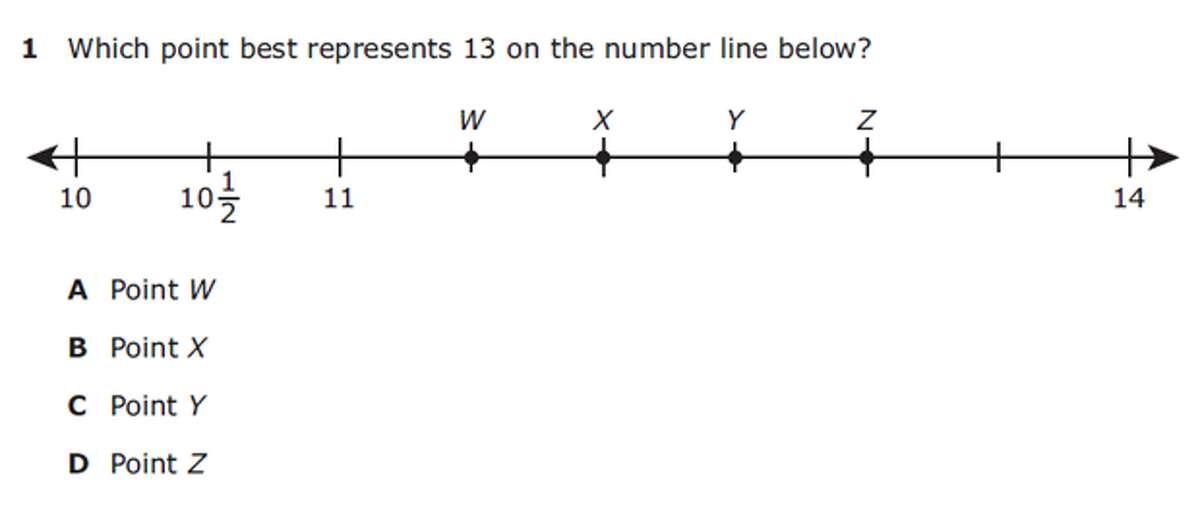 Grade 3 MathAnswer: D