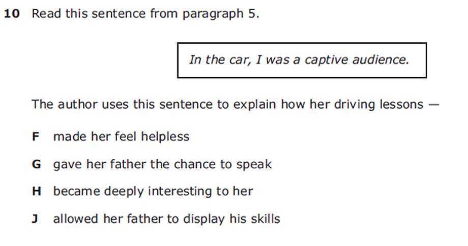 Grade 7 Reading