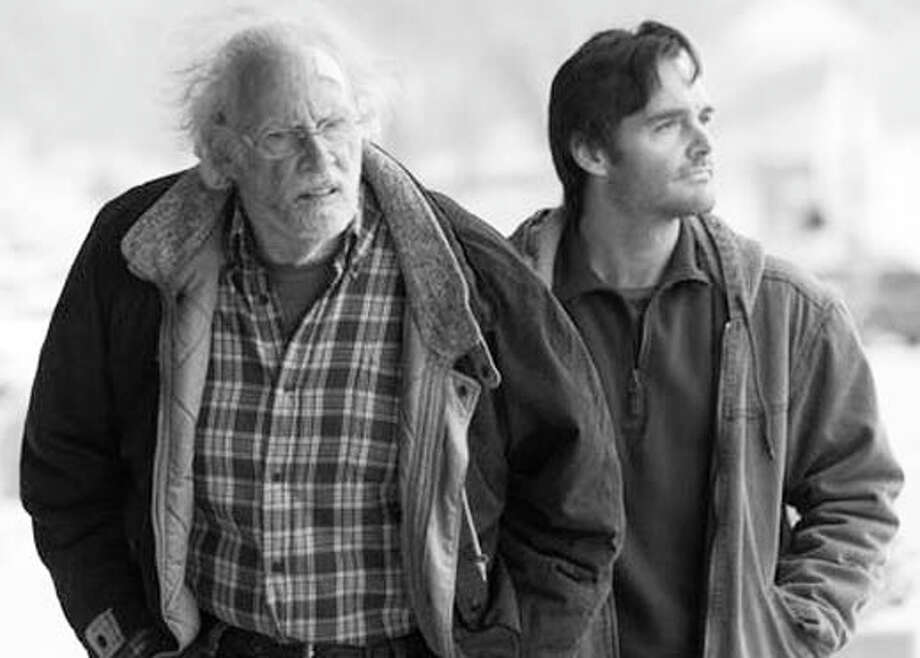 "Bruce Dern and Will Forte star in ""Nebraska,"" an Oscar-nominated film that will be shown in the Pequot Library's Oscar matinee series. Photo: Contributed Photo / Fairfield Citizen"