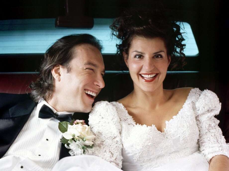 'My Big Fat Greek Wedding,'2003. This movie made us all wish we were a little bit Greek. And that we were marrying Aiden from 'Sex and the City.' Photo: SOPHIE GIRAUD, AP