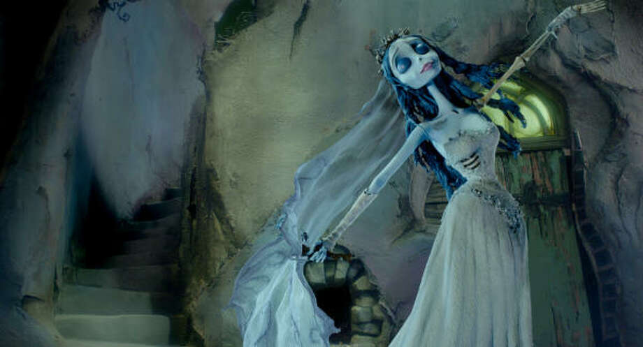 'Corpse Bride,' 2005. A groom practices his wedding vows inadvertently in front of a female ghost. She then rises from the grave, assuming the two are now married. Oops. Photo: -, Warner Bros. Pictures
