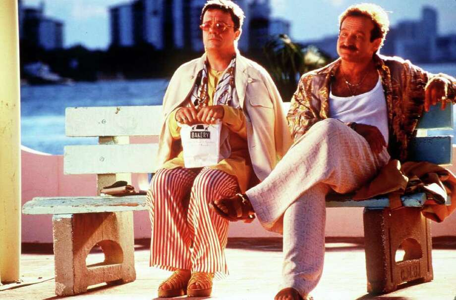 'The Birdcage,'1996. Meeting the parents can be a nerve-wracking ordeal. But at least the parties in question probably aren't a conservative political family trying to distance themselves from a sex scandal and a gay couple who own a gay bar in Miami. Even they got along in the end, so maybe there's hope for your hog-riding father and your hoity-toity future mother-in-law after all.      Photo: LOREY SEBASTIAN, STR / UNITED ARTISTS